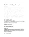 Egg Whites: A Short Puppet Film Script by Alva Rogers